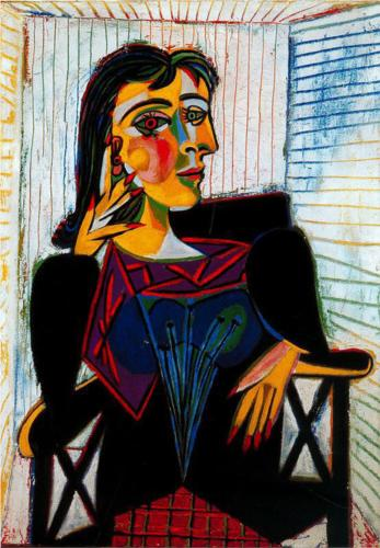 Portrait of Dora Maar