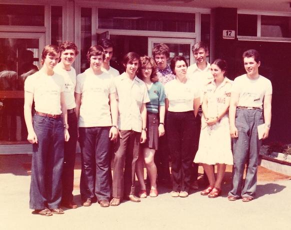 USSR 1976 IMO Team