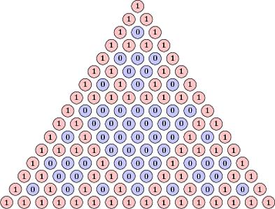 Pascal Triangle Mod 2