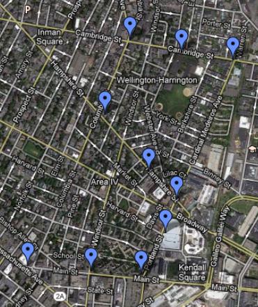 Ben's Locations